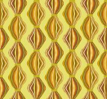 Modèle de tuile abstraite ligne ondulée. Ornement géométrique en laine