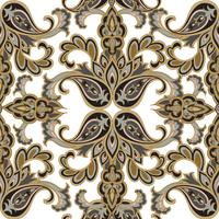 Floral pattern sans soudure. Fond de fleurs. Texture transparente florale avec des fleurs. Papier peint carrelé Flourish