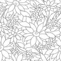 Motif élégant sans couture florale. Fond de fleurs de printemps