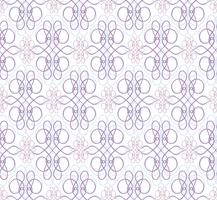 Swirl motif floral. Ornement abstrait Arrière-plan transparent de brocart vecteur