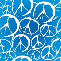 modèle sans couture avec symboles multicolores de la paix vecteur