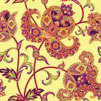 Floral fond sans couture. Ornement oriental. Motif de fleurs.