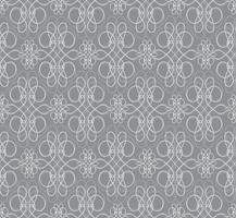 Swirl motif floral. Ornement abstrait Arrière-plan transparent de brocart