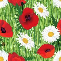 Floral pattern sans soudure. Fleurs d'été Meadow