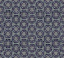 Motif géométrique abstrait Fond de tissu ornement floral abstrait vecteur