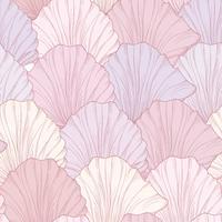 Motif floral sans soudure, pétales de fleurs gravées. Texture s'épanouir