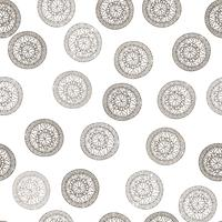 Motif géométrique abstrait Ethnique ethnique cercle floral. vecteur