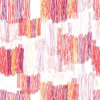 Abstrait motif géométrique sans soudure. Texture de tuile dessinée vecteur