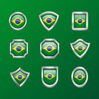 drapeau de l'emblème du Brésil
