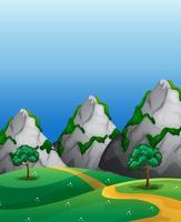 Montagne vecteur