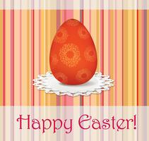 Signe de l'oeuf de Pâques. Fond de carte de voeux de Pâques. Symbole religieux