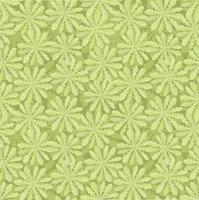 Floral pattern sans soudure. Ornement de feuilles orientales tuilées