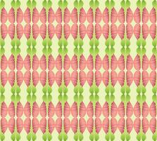 Motif ethnique floral abstrait. Ornement géométrique.