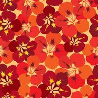 Modèle de tuile floral abstrait. Fond fleur de jardin
