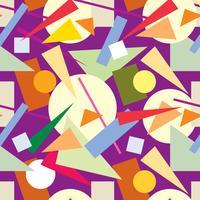 Modèle sans couture abstraite. Toile de fond de forme géométrique