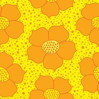 Motif ethnique floral abstrait. Ornement floral géométrique. Orien