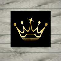 Symbole de la couronne vecteur