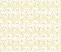 Modèle sans couture floral abstrait. Ornement géométrique de fleurs. F vecteur