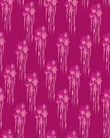 Modèle sans couture floral abstrait. Fond ornement géométrique de fleurs.