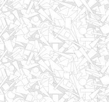 Modèle sans couture de forme géométrique abstraite Fond d'écoulement chaotique vecteur