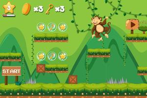 Un modèle de jeu de saut de singe