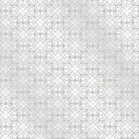 Ligne motif floral. Ornement abstrait Arrière-plan transparent de brocart