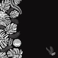 Floral pattern sans soudure. Fond de fleurs. Bordure de jardin s'épanouir vecteur