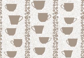 Café boire fond sans couture. Modèle sans couture de grains de café.