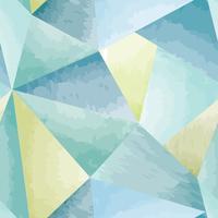 Modèle sans couture abstraite fond aquarelle de forme géométrique