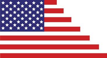 Drapeau des États-Unis d'Amérique, drapeau des États-Unis, abstrait du drapeau de l'Amérique
