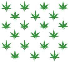 Vecteur de fond de la marijuana
