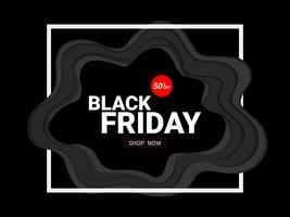 Modèle de conception inscription vente vendredi noir.
