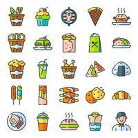 Pack d'icônes fast food