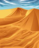 désert. vecteur