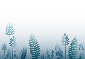 fond de dessin animé de forêt vecteur