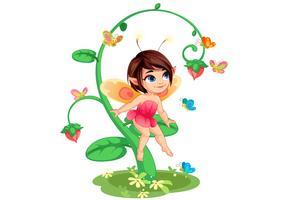 Petite fée aux fleurs 6