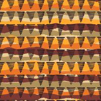 Tribal ethnique modèle sans couture avec des éléments géométriques