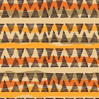 Tribal ethnique modèle sans couture avec des éléments géométriques vecteur