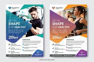 Brochure d'entreprise vecteur