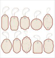 conception d'étiquettes de vente de style vintage