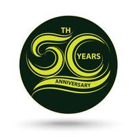 Signe du 30e anniversaire et logo pour le symbole de la célébration