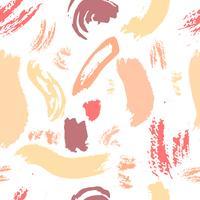 Motif abstrait brosse de fond. Illustration vectorielle