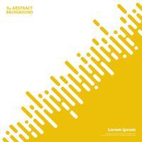 Lignes de bandes de couleur abstraite jaune moutarde pour le fond de présentation d'affaires. illustration vectorielle eps10
