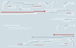 fond abstrait ligne circuit technologie