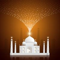 Bannière de voeux Ramadan Kareem, fond de Ramadan Kareem vecteur