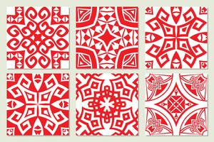 textures sans couture ethniques géométriques abstraites