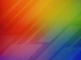 Ligne abstraite fond de vecteur coloré