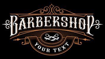 Création de logo Barbershop.