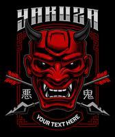 Art démon japonais.