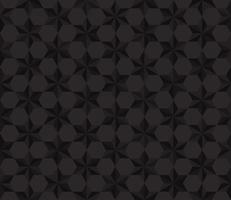 Fond transparent polygone étoiles noires - illustration vectorielle
